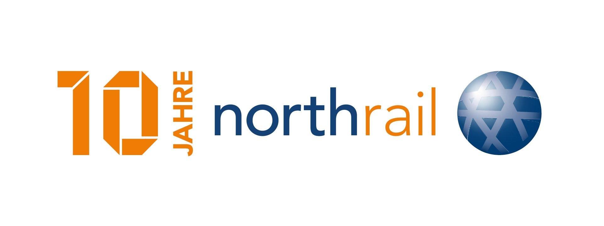 10 Jahre Northrail Logo
