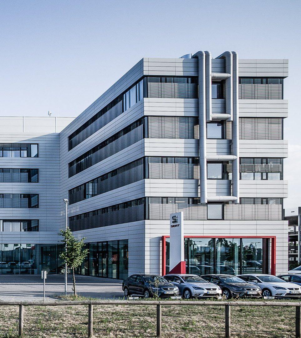 Automobilzentrale Rhein-Main - Außenansicht Teilgebäude