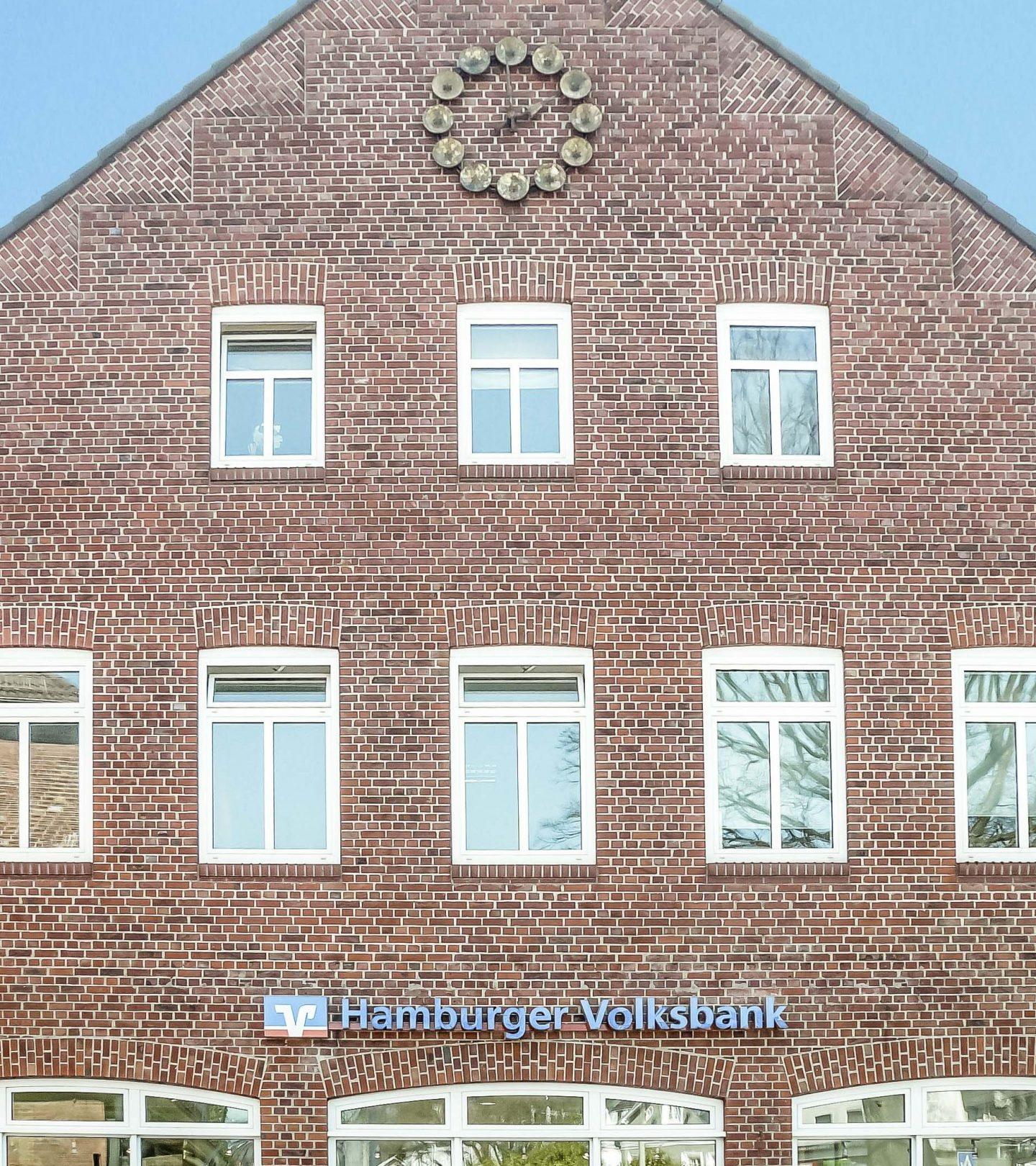 Bahnhofstraße Hamburg - Fassade