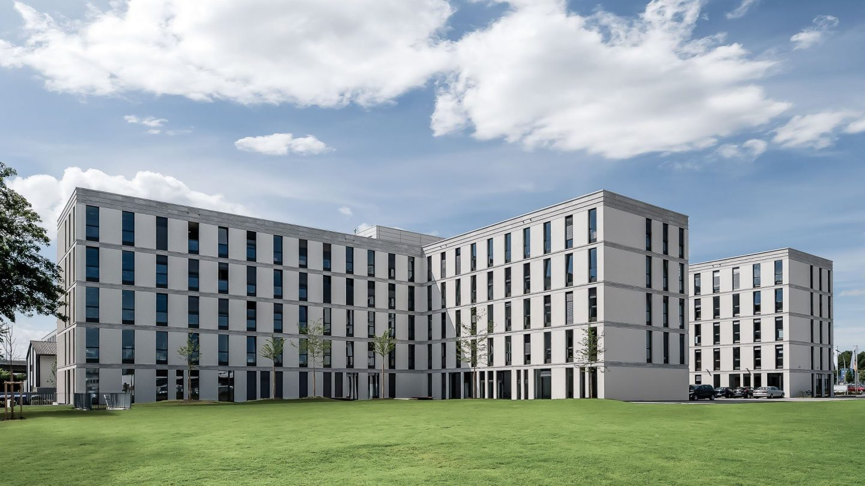 Beschaffungsamt Bonn - Außenansicht gesamtes Gebäude