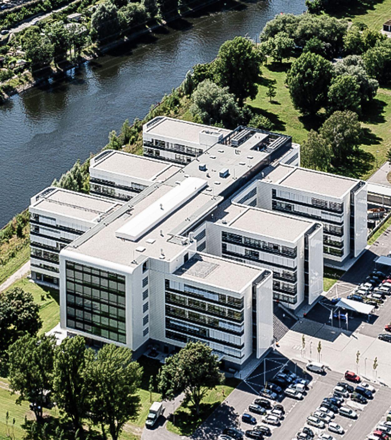 BSH Verwaltungs- und Forschungszentrum Berlin - Luftbild