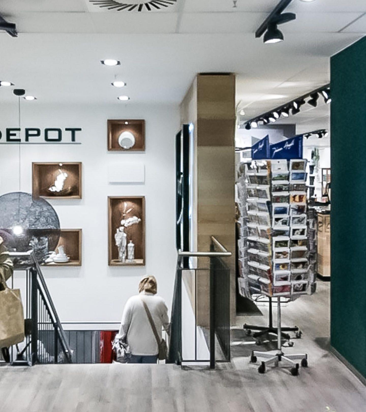 Development 04 - Innenansicht Einzelhandel Neuer Mohnhof Hamburg