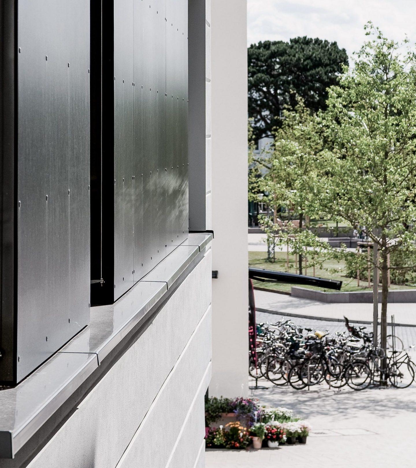 Goßlers Park Hamburg - Detail Fassade