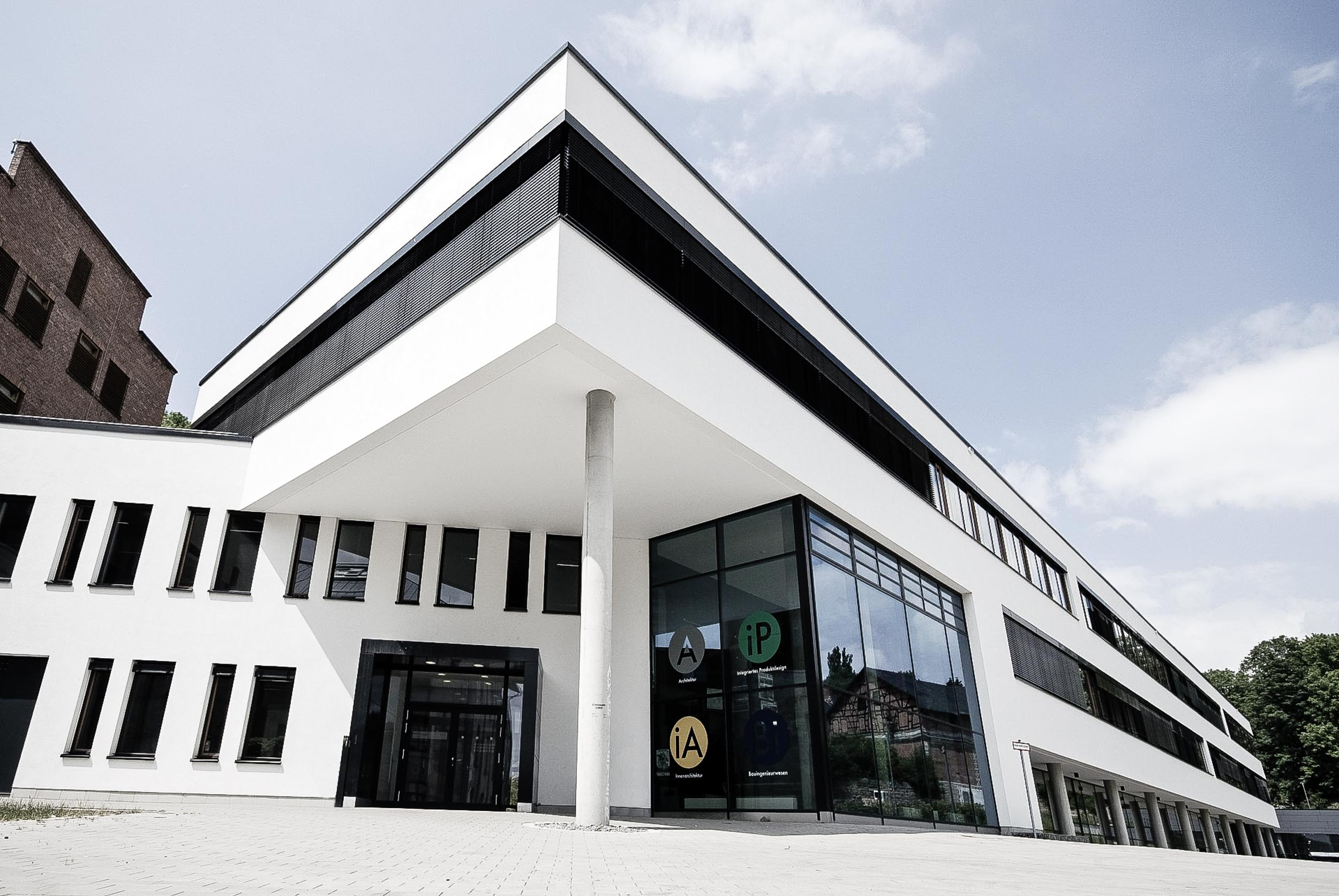 Hochschule Coburg - Außenansicht Neubau Design-Campus