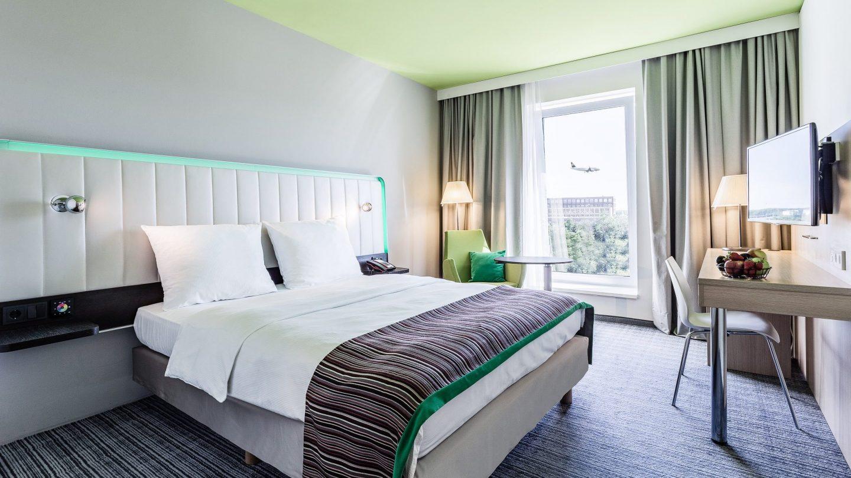 Hotel Flughafen Frankfurt - Innenansicht Hotelzimmer