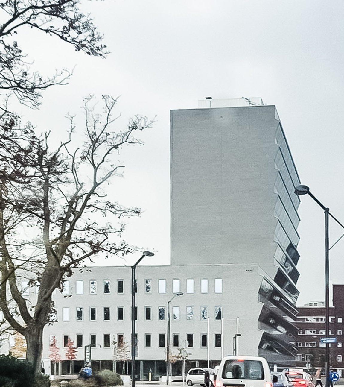 Industrieplein Hengelo - Außenansicht von der Straße