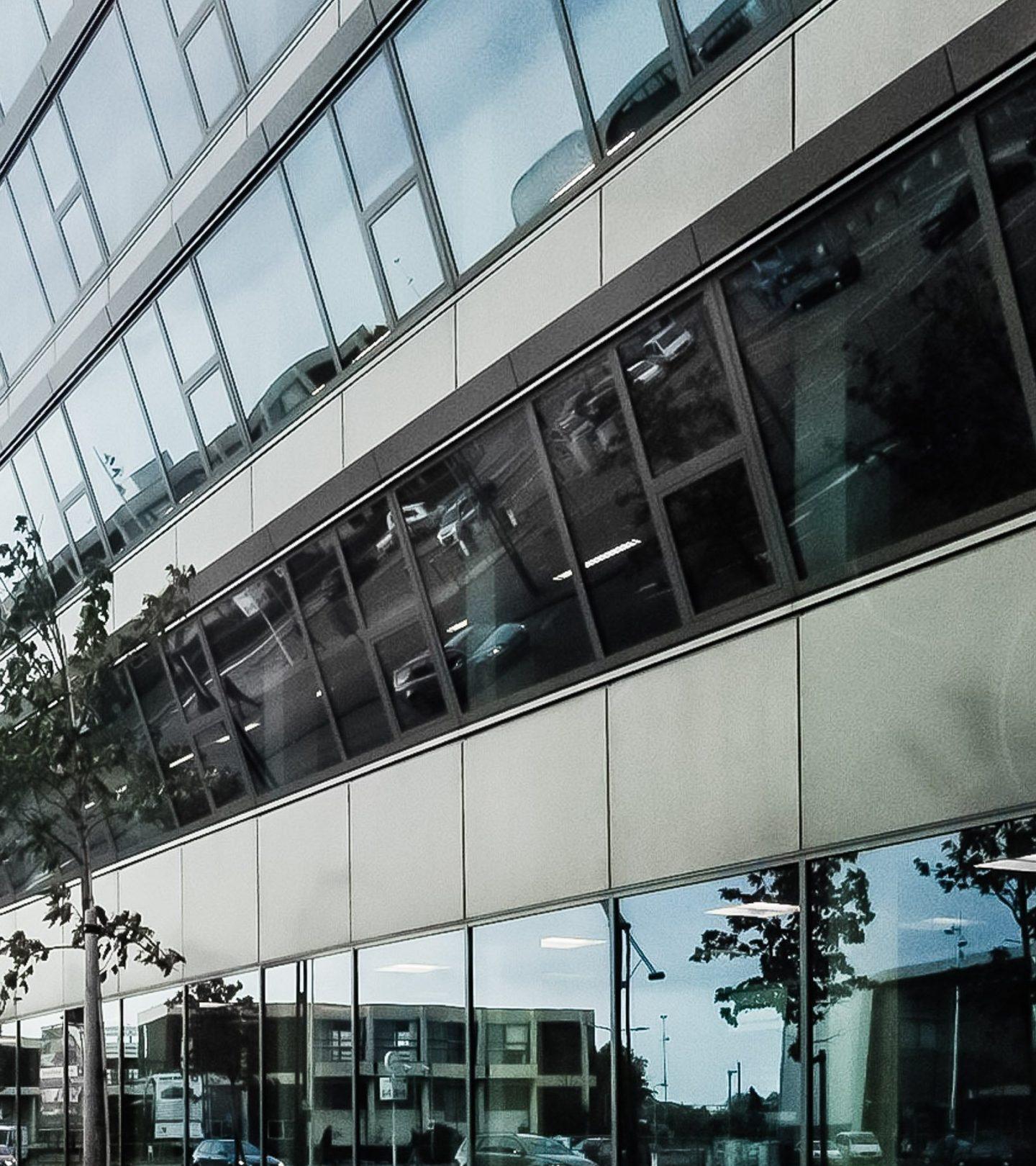 Industrieplein Hengelo - Fassade