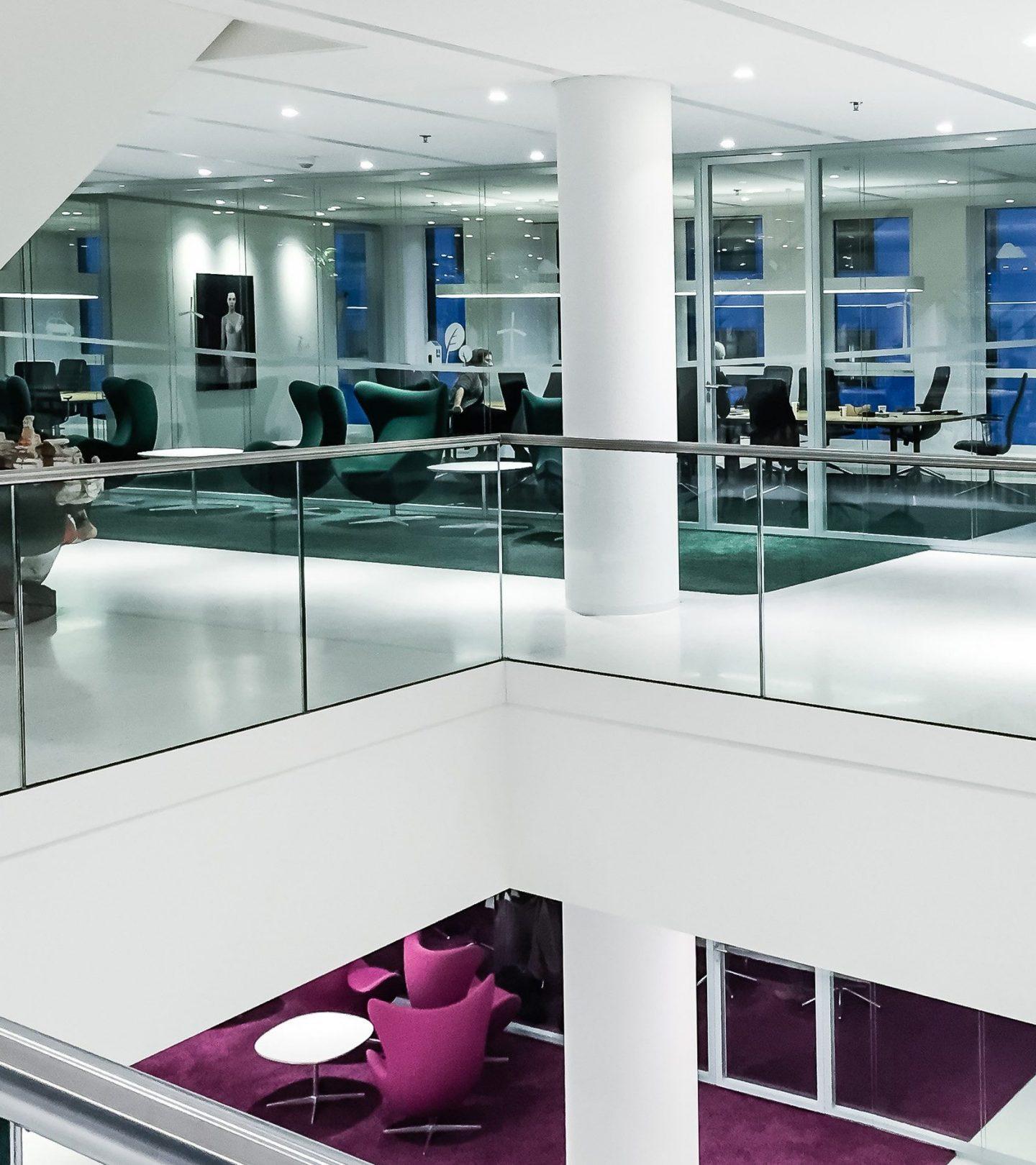 Marten Meesweg Rotterdam - Innenansicht Büroräume