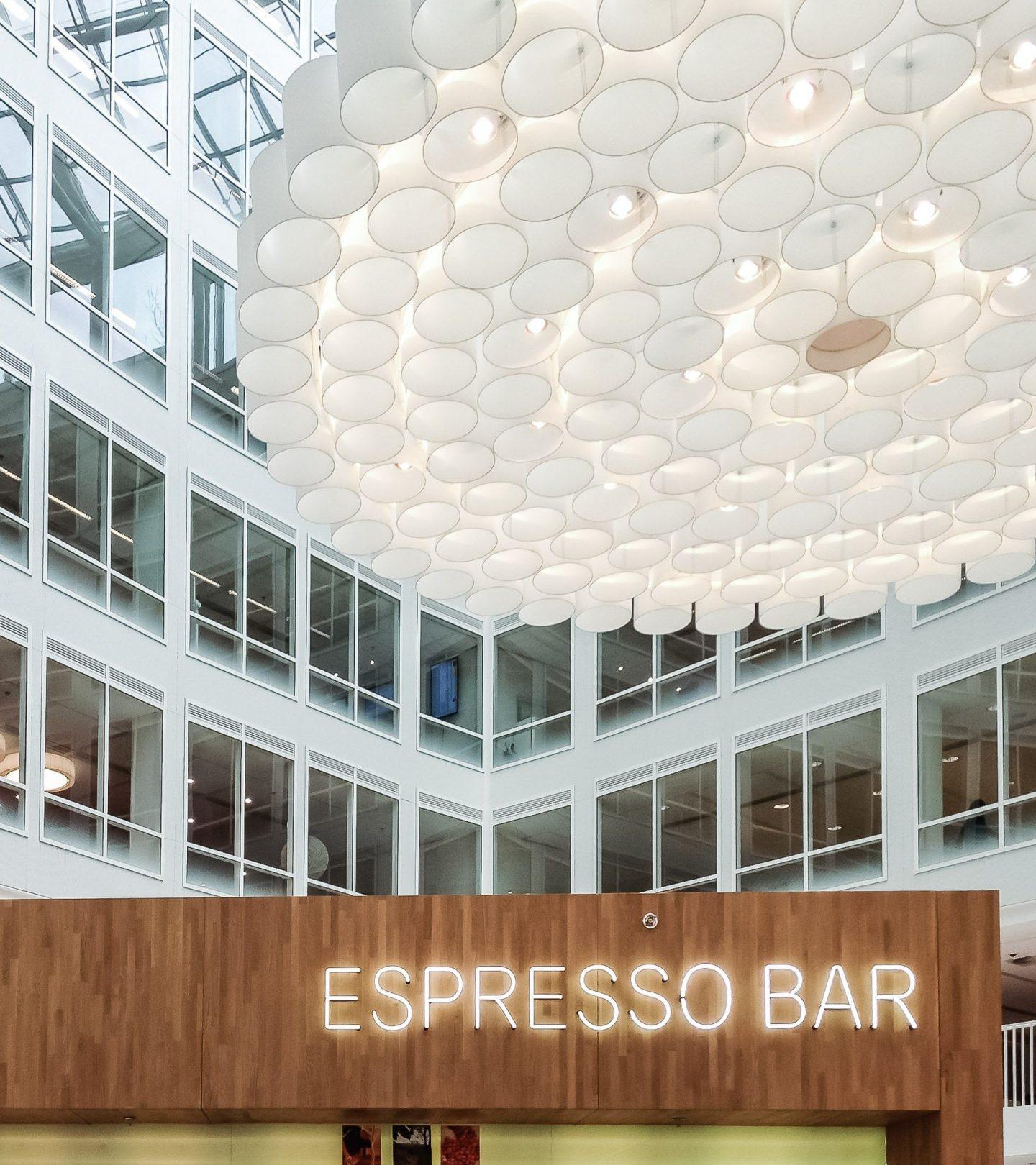 Marten Meesweg Rotterdam - Innenansicht Espresso Bar