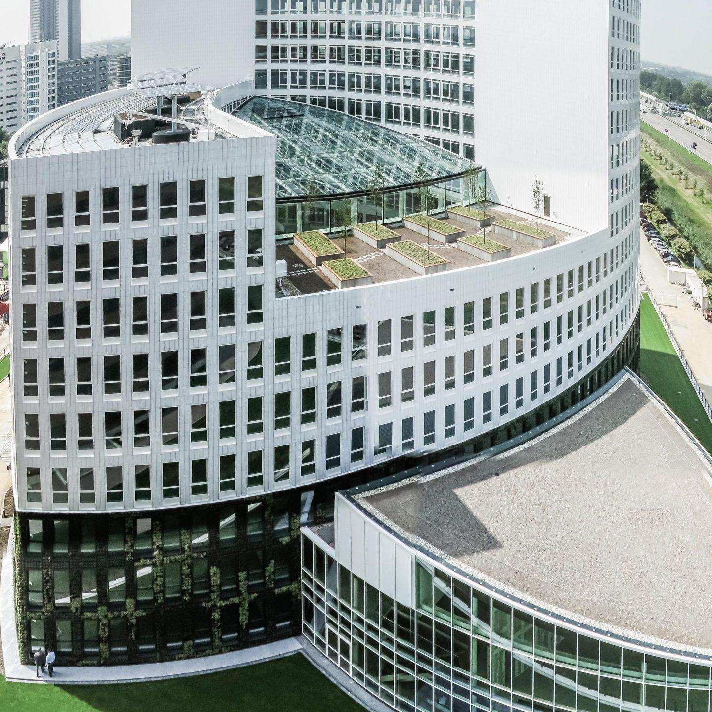 Marten Meesweg Rotterdam - Außenansicht gesamtes Gebäude