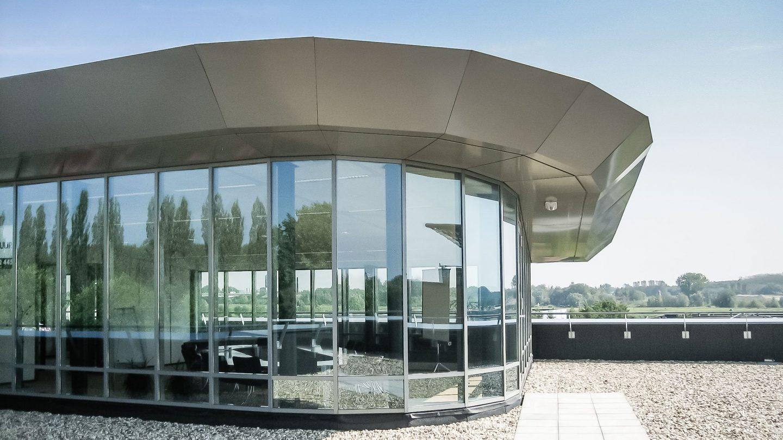 Meander 651 Arnheim - Besprechungsraum auf dem Dach von außen