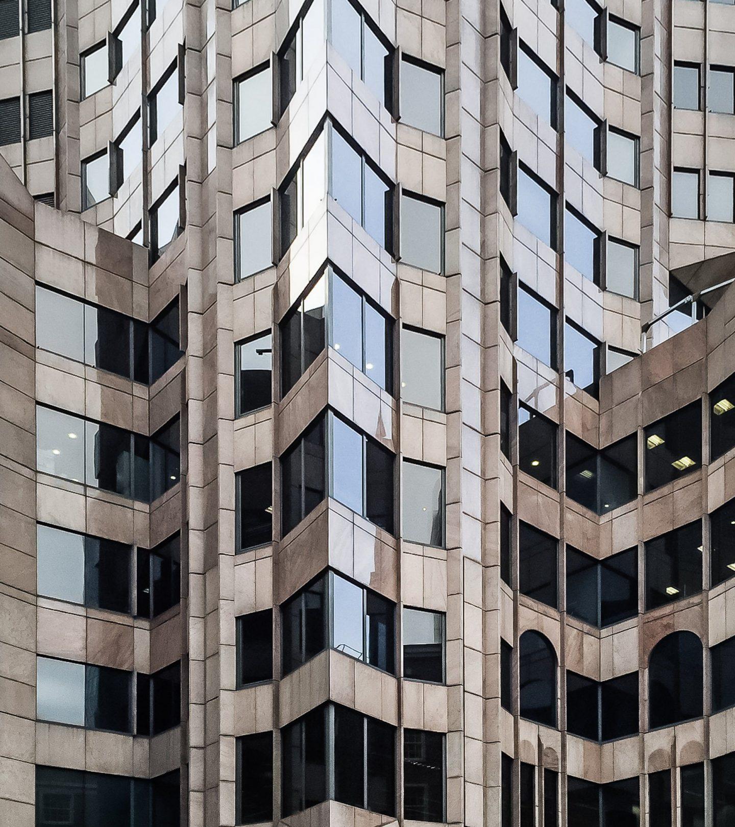 Minster Court London - Außenansicht Fassade