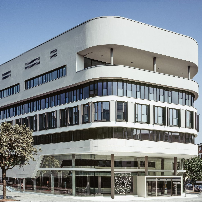 Ordnungsamt Frankfurt am Main - Außenansicht gesamtes Gebäude