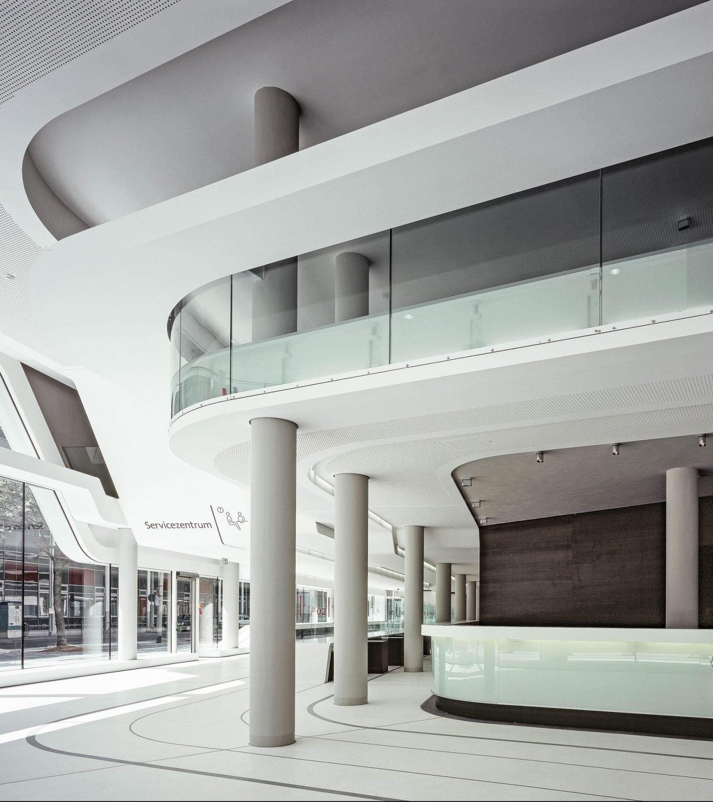 Ordnungsamt Frankfurt am Main - Eingangsbereich Servicezentrum