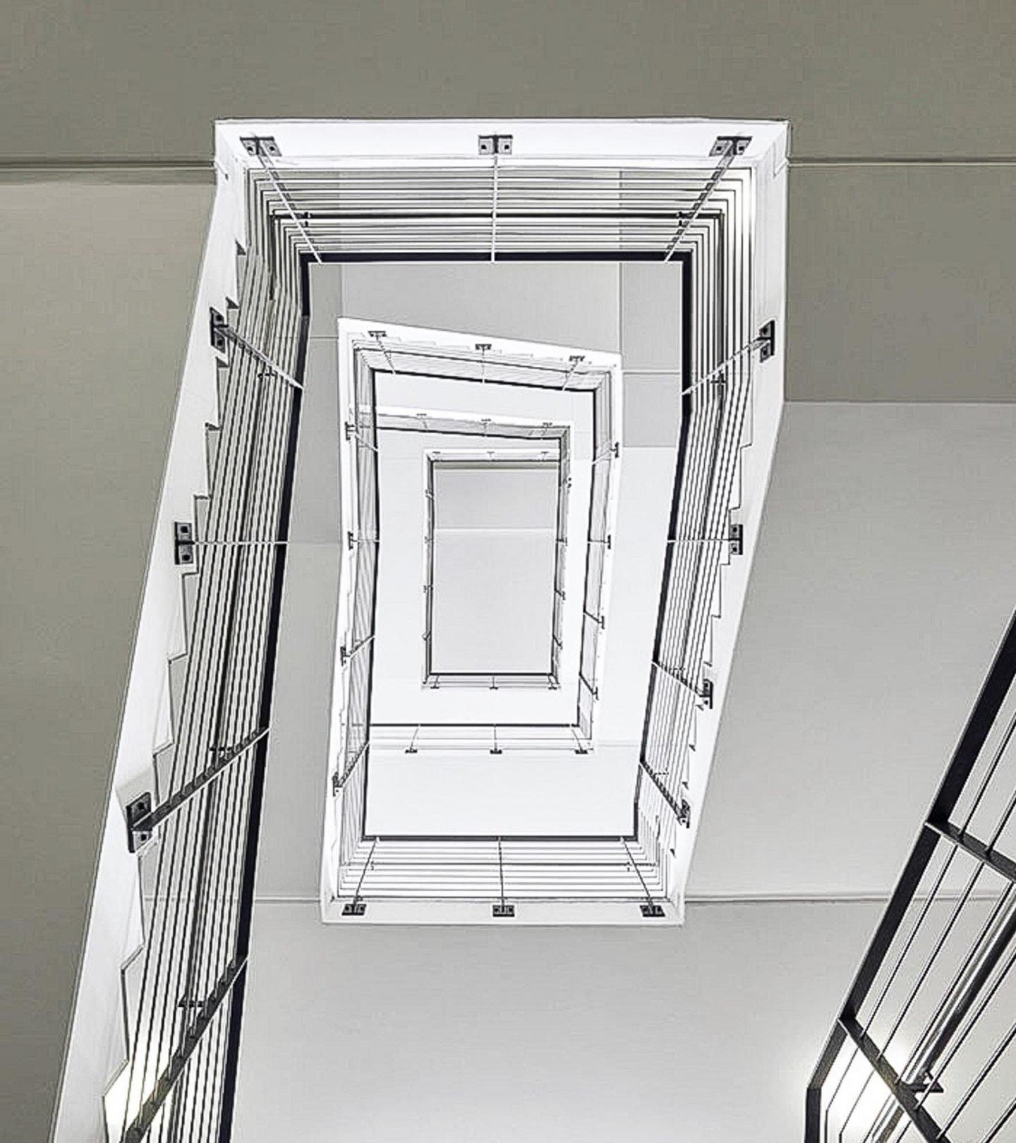 Paribus Hochschulportfolio Bayern - Treppenhaus der Universität Bamberg