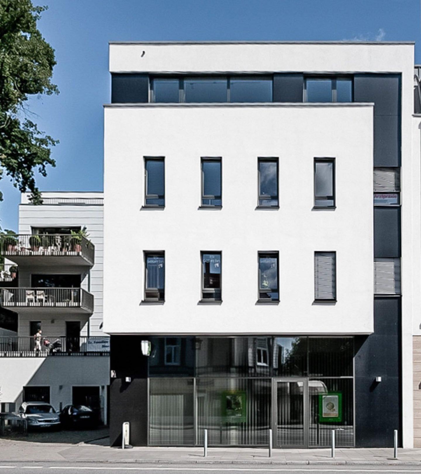 Paribus Property Portfolio - Außenansicht Goßlers Park Hamburg