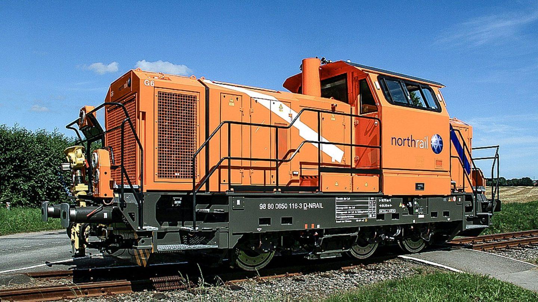 Paribus Rail Portfolio II - Northrail-Lokomotive auf Gleisen