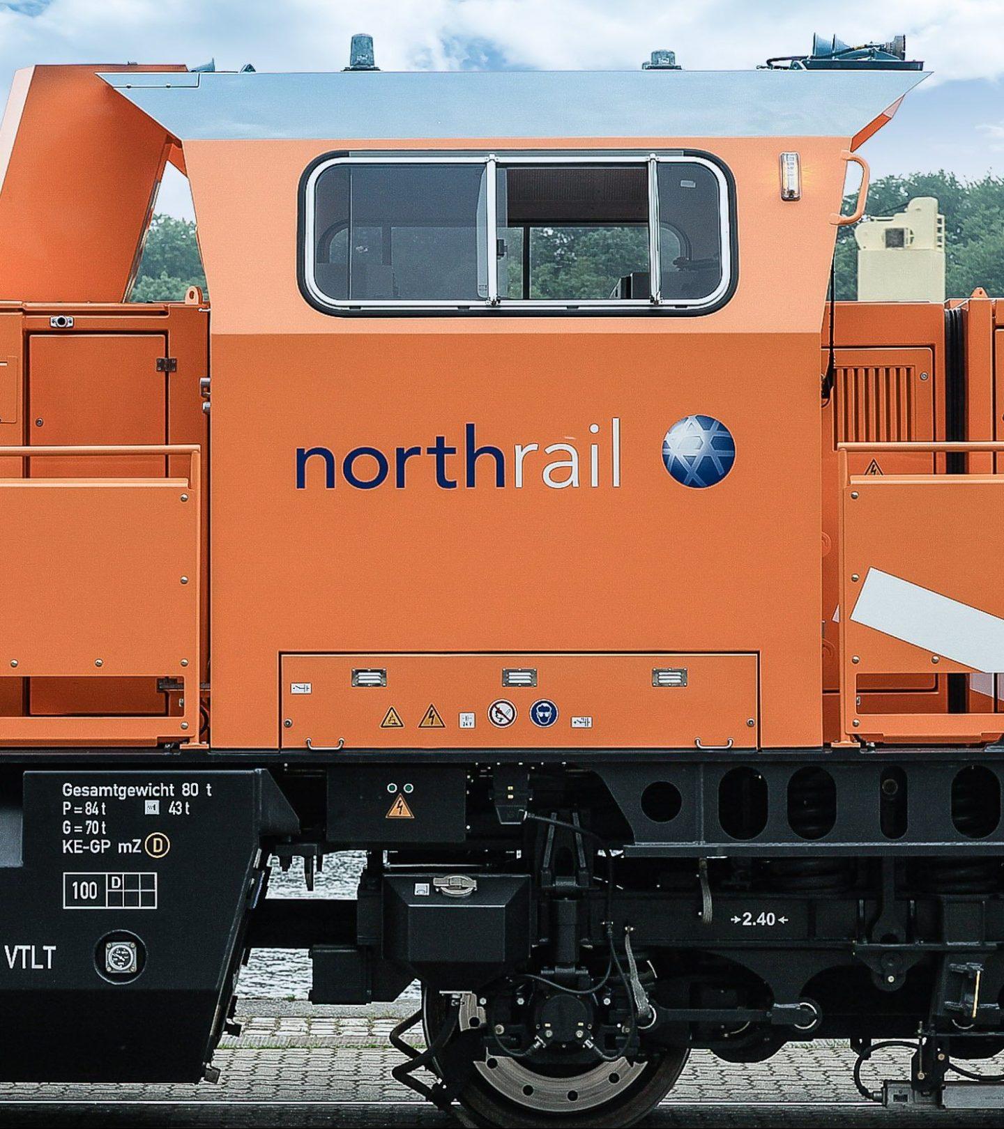 Paribus Rail Portfolio II - Northrail-Lokomotive Seitenansicht