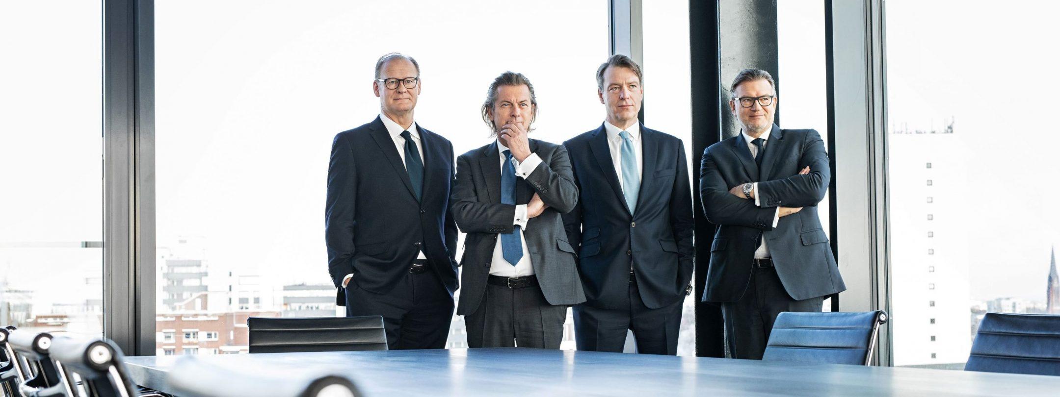 Gruppenbild der Paribus-Holding-Geschäftsführung
