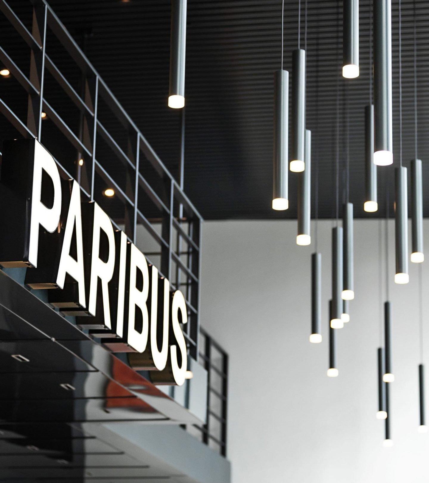 Paribus Eingangsbereich