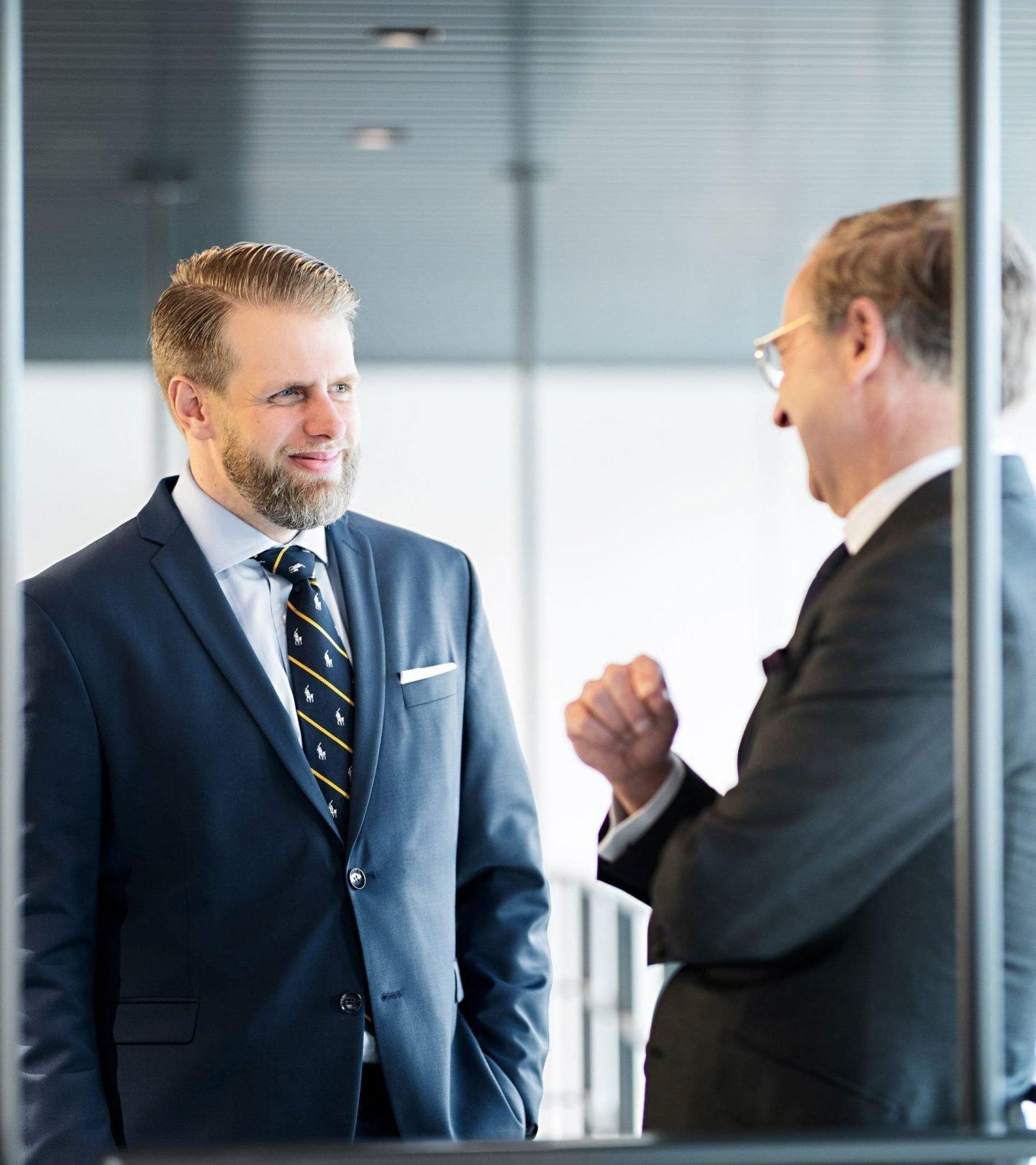 Geschäftsführer und Prokurist der Paribus Invest im Gespräch