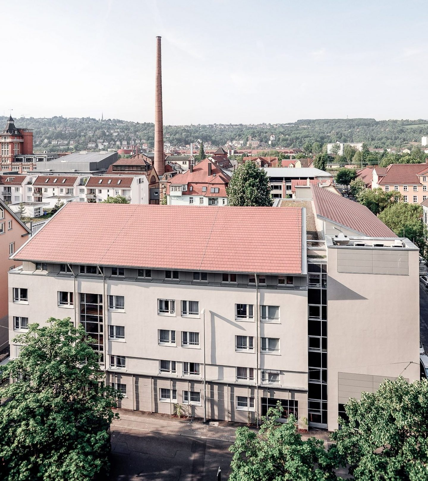 Pflegeheim Haus Melchior Esslingen - Außenansicht Straßenseite