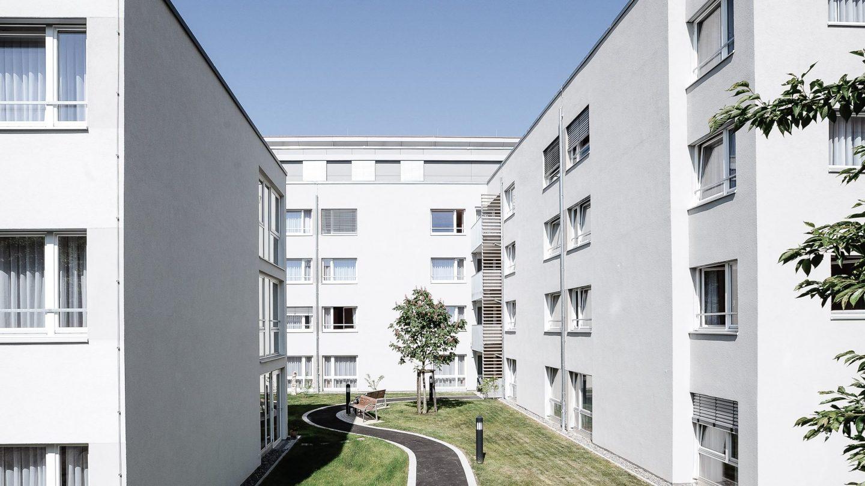 Regionalfonds Baden-Württemberg - Außenansicht Pflegeheim Haus Melchior