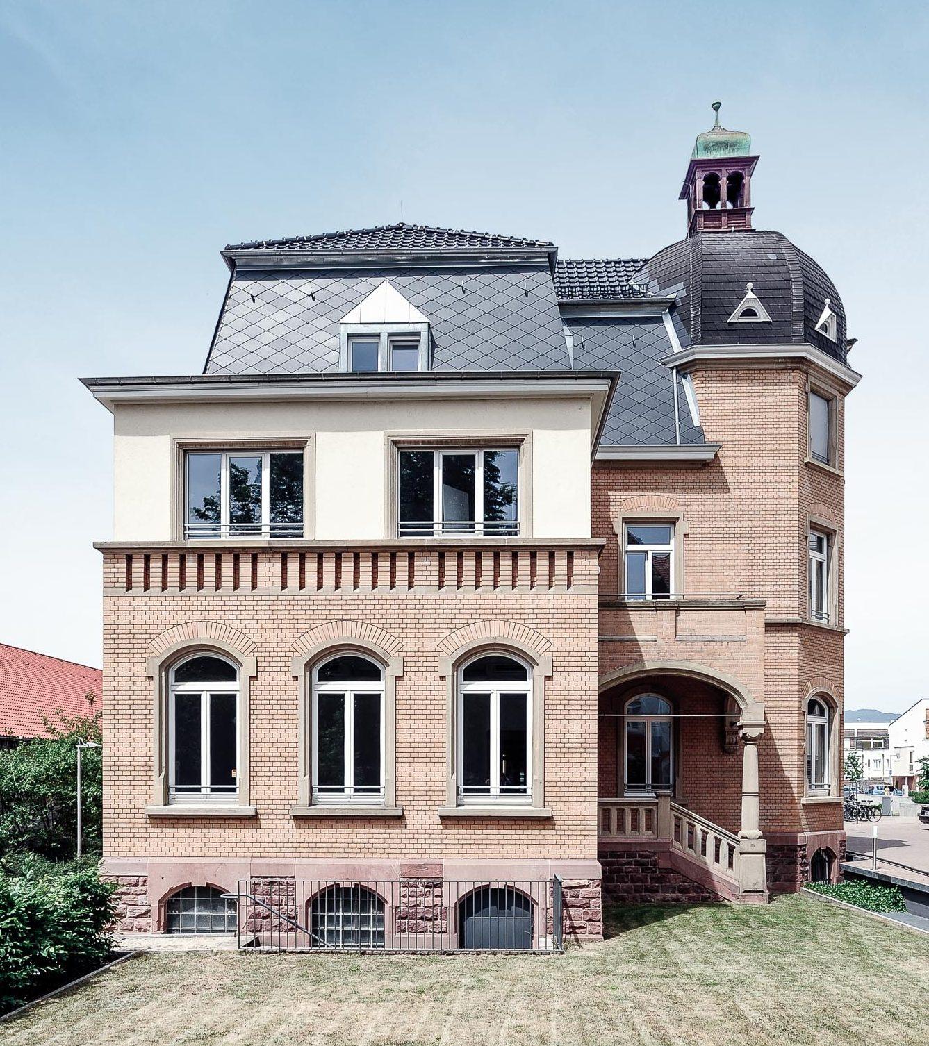 Regionalfonds Baden-Württemberg - Außenansicht Villa Fuchs