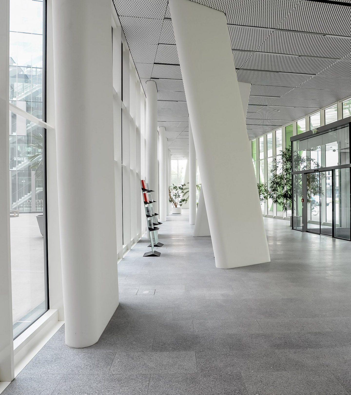 Regionalfonds Baden-Württemberg - Innenansicht Eingangsbereich