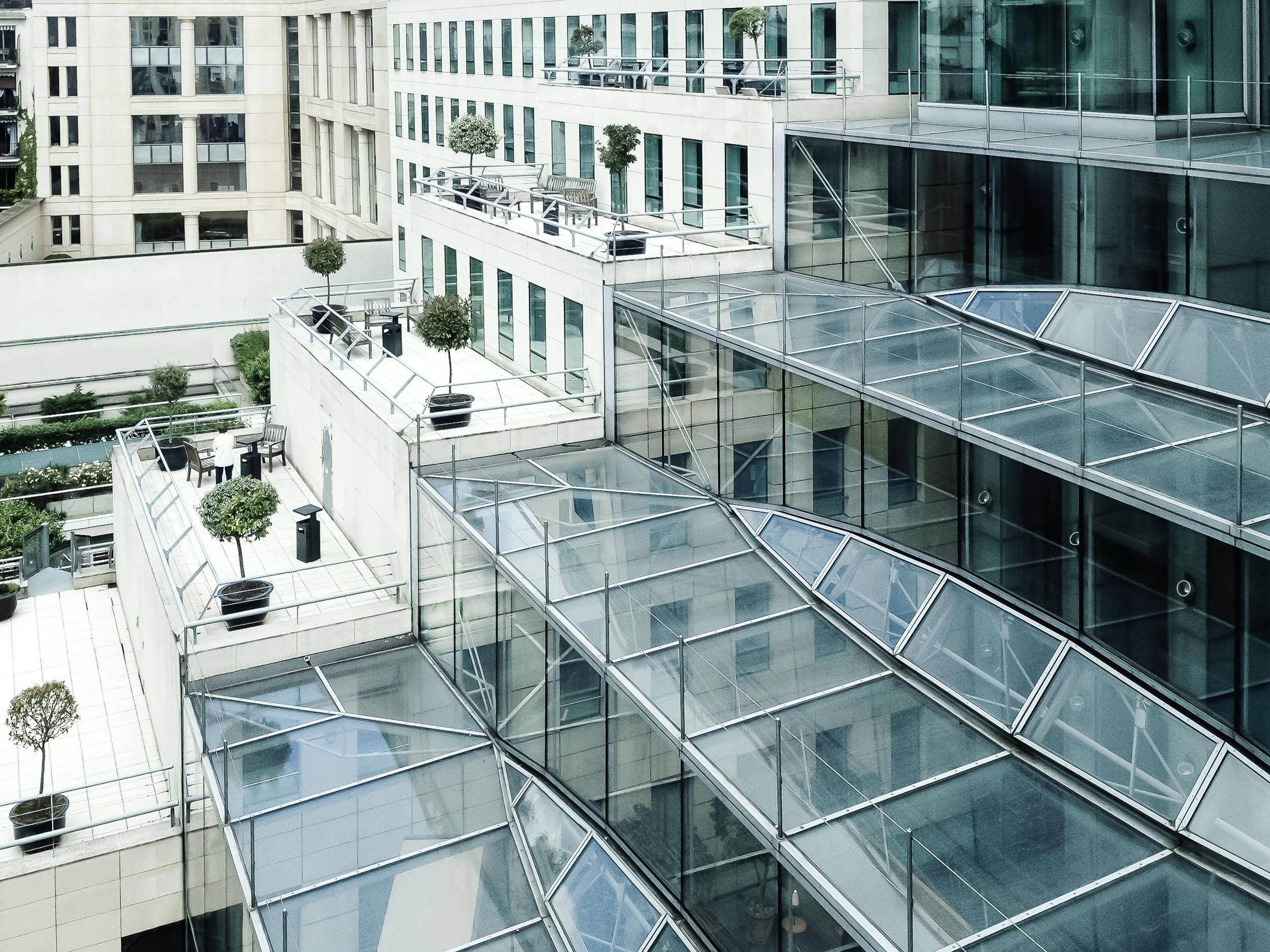 Rue Ybry Paris - Außenansicht Terrassen