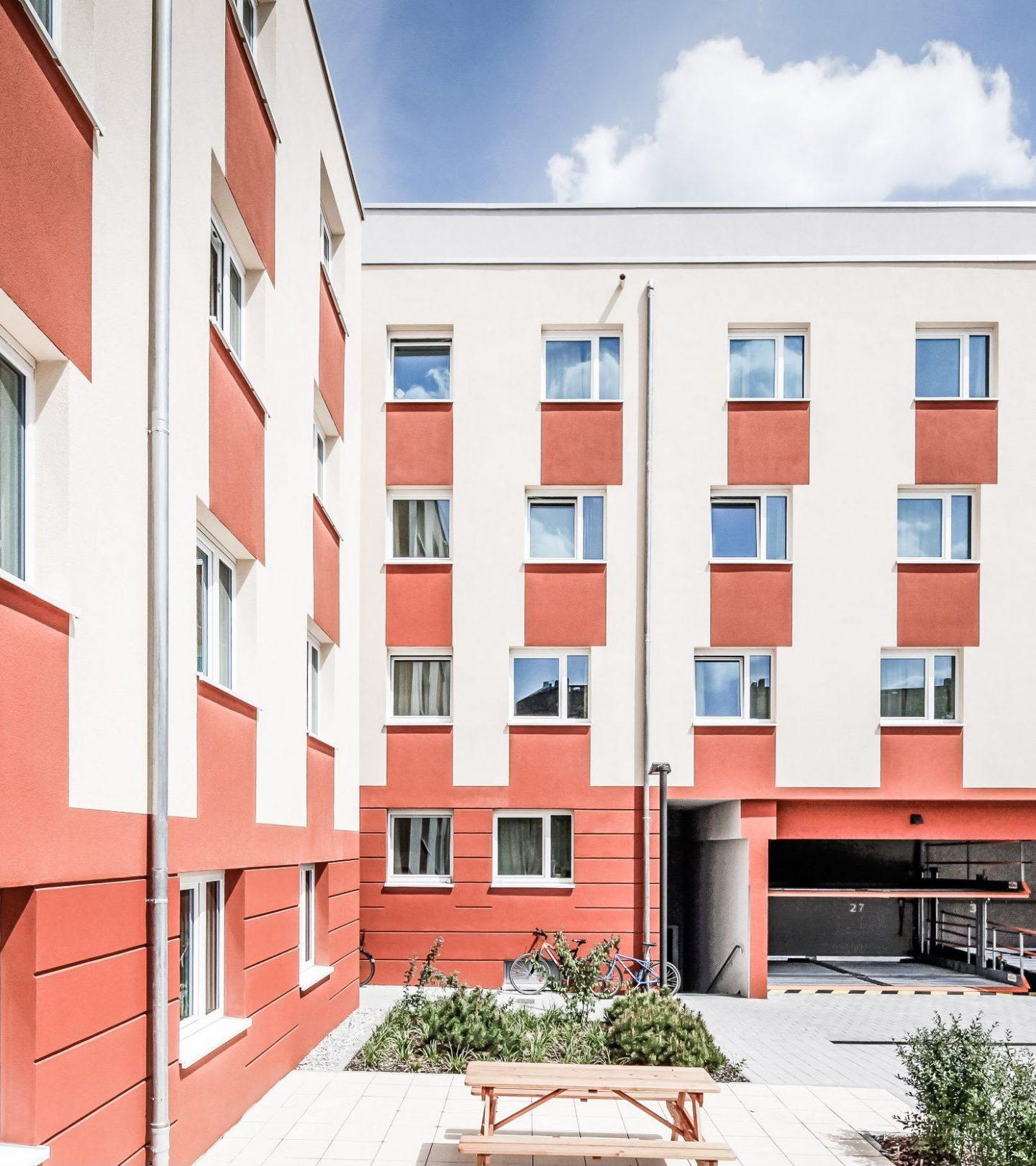 SMARTments Darmstadt - Innenhof