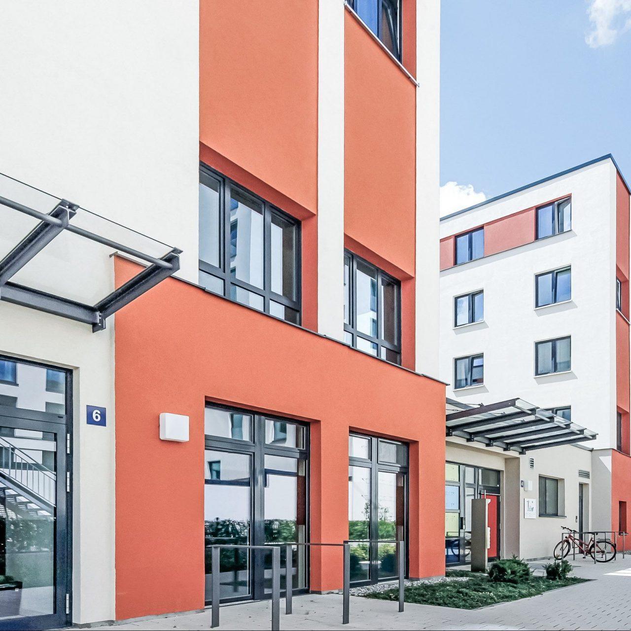 SMARTments Frankfurt - Außenansicht