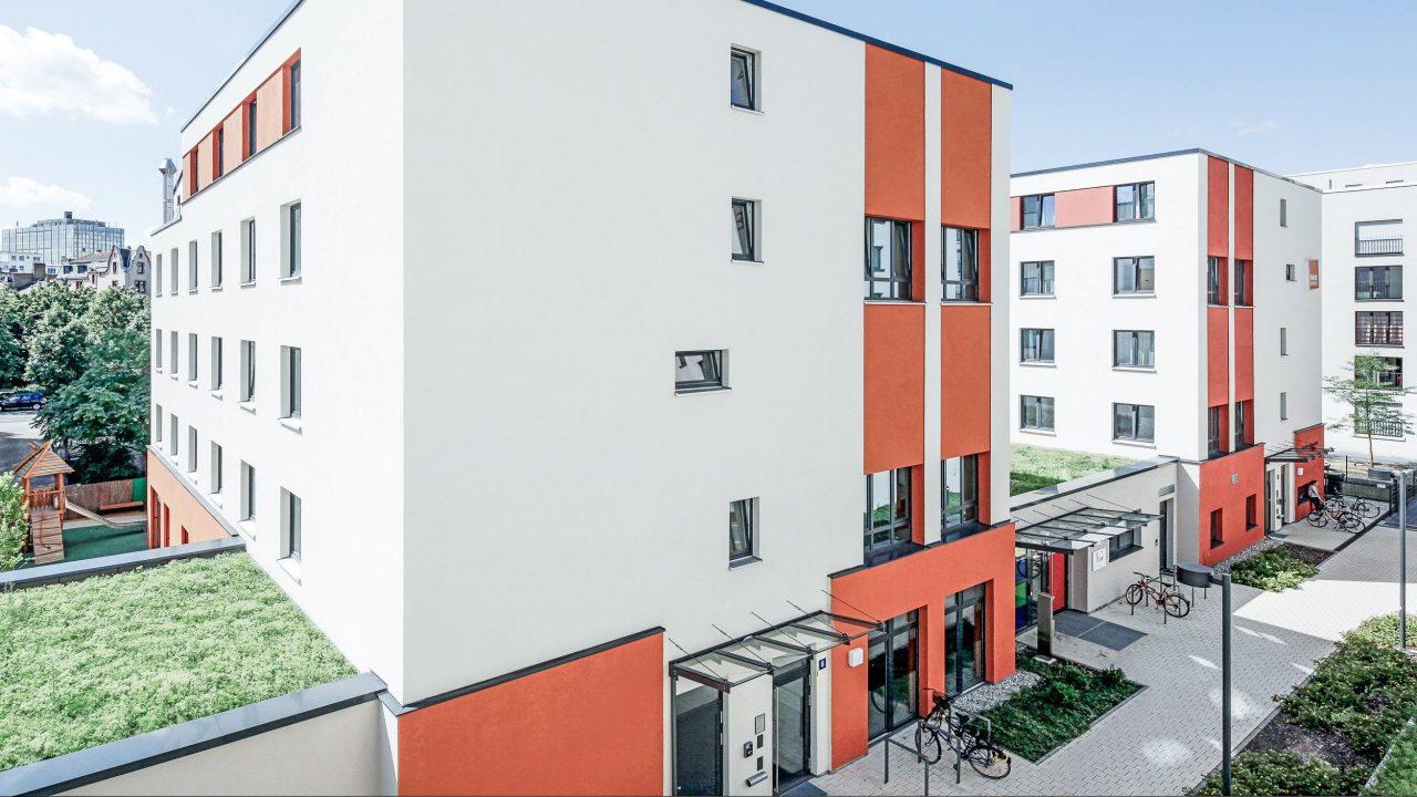 SMARTments Frankfurt - Eingangsbereich