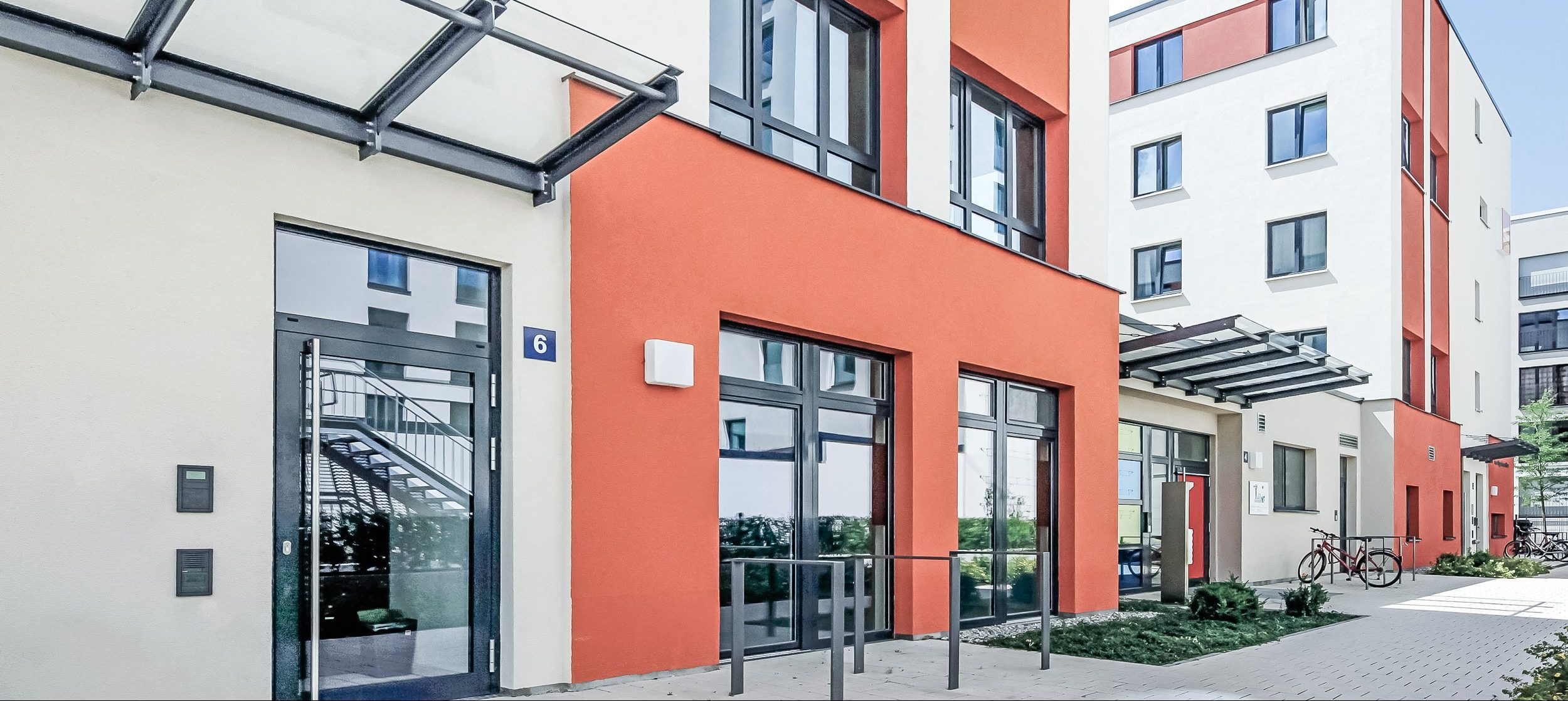 SMARTments Frankfurt - Wohnraum