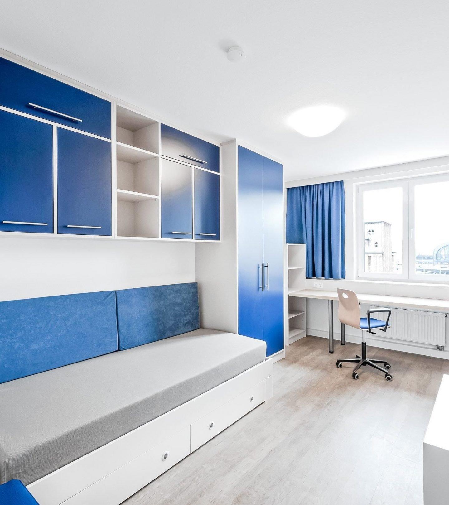 SMARTments Hamburg - Innenansicht Studentenapartment