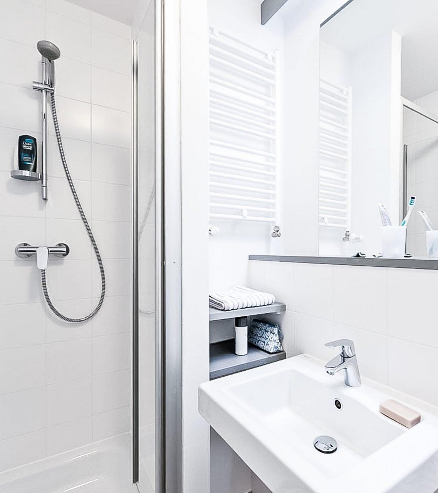 SMARTments Hamburg - Innenansicht Badezimmer