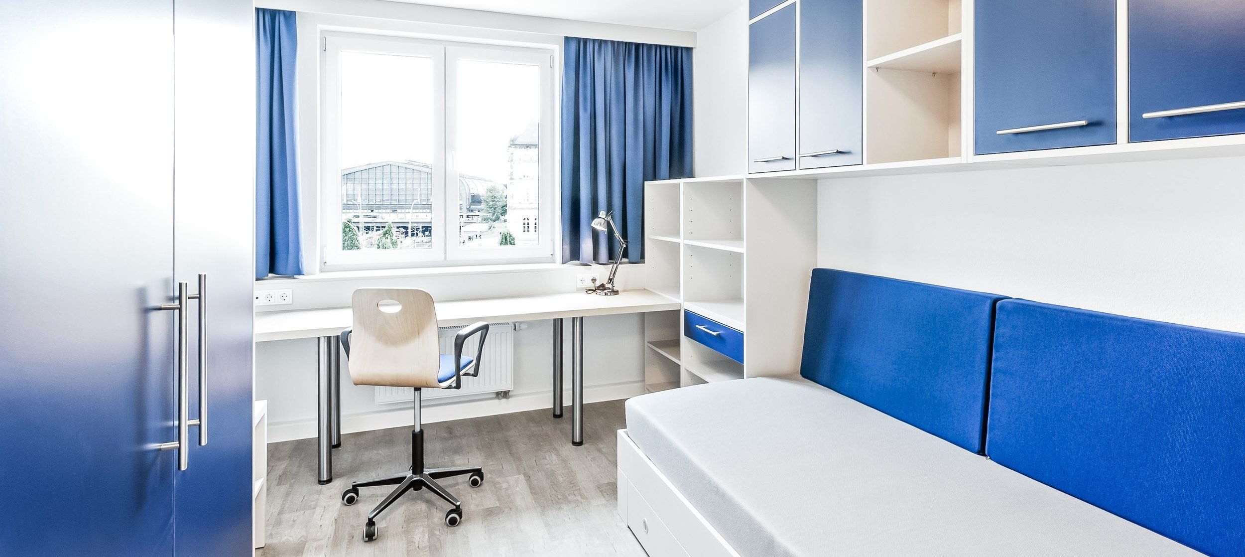 SMARTments Hamburg - Studentanapartment Wohnraum