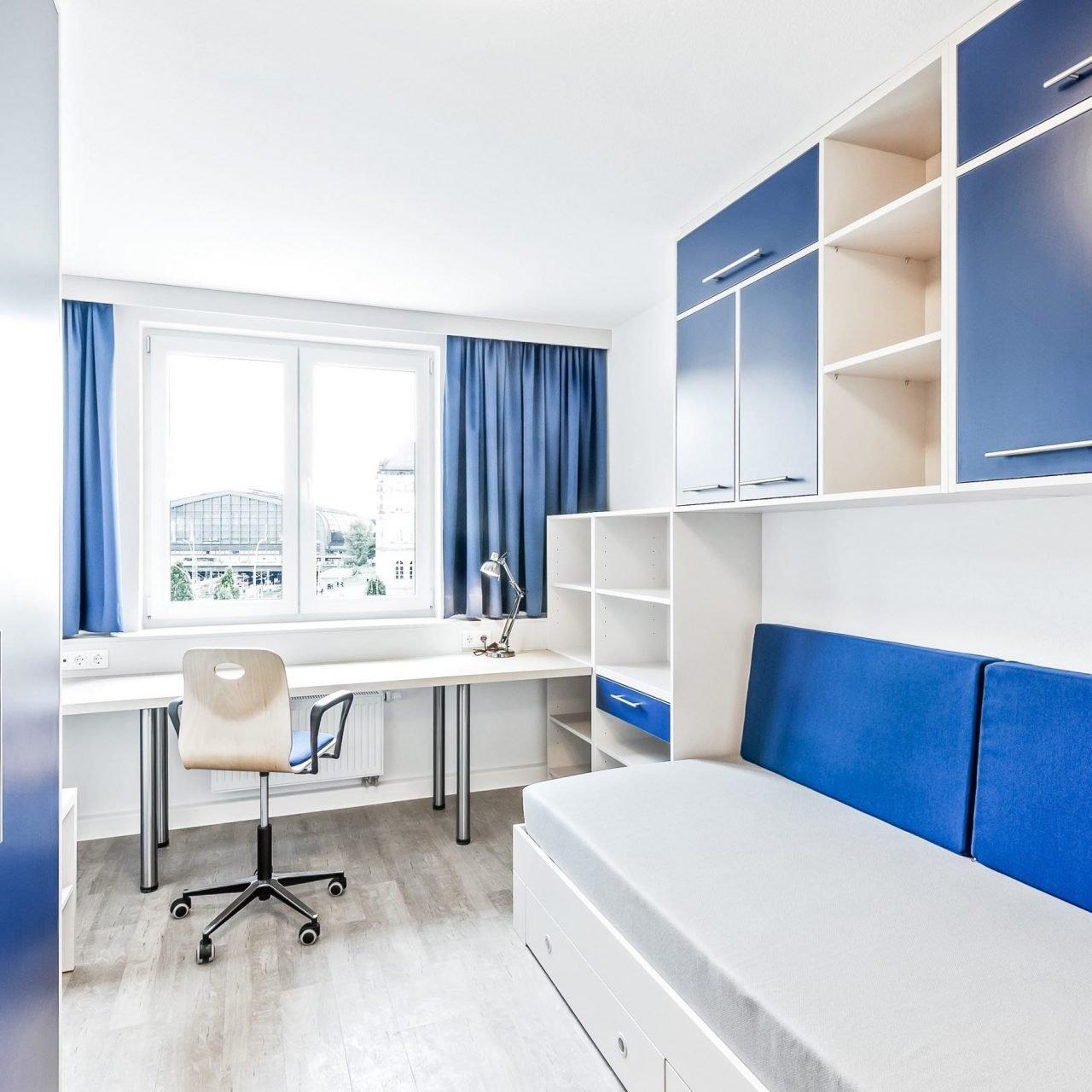 SMARTments Hamburg - Innenansicht Wohnraum