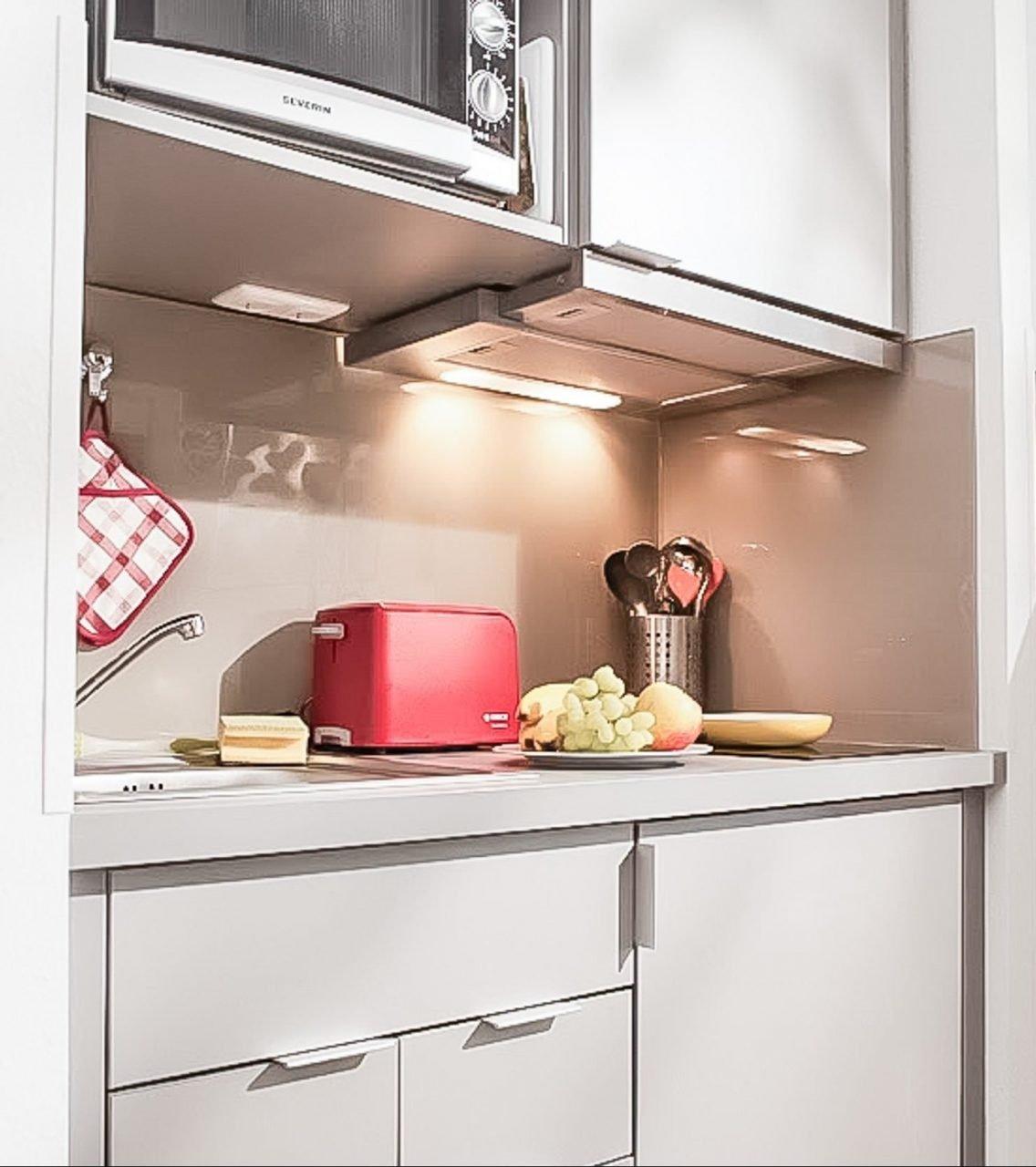 SMARTments Mainz - Küchenzeile