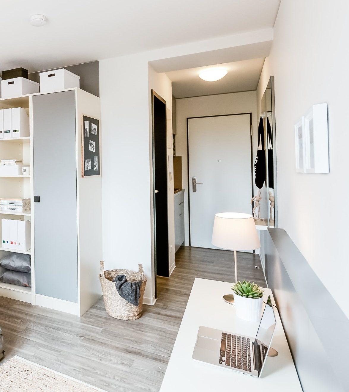 SMARTments Mainz - Wohnraum