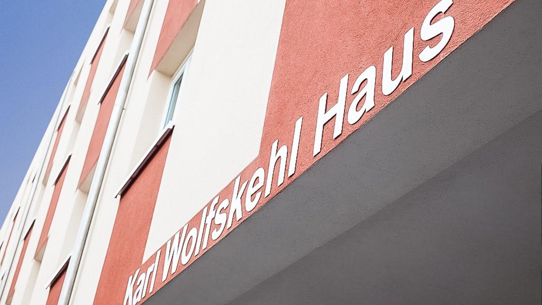 Studieren Wohnen II - Außenansicht SMARTments Darmstadt