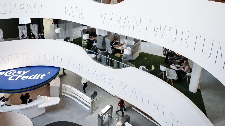 TeamBank Unternehmenszentrale Nürnberg - Eingangsbereich