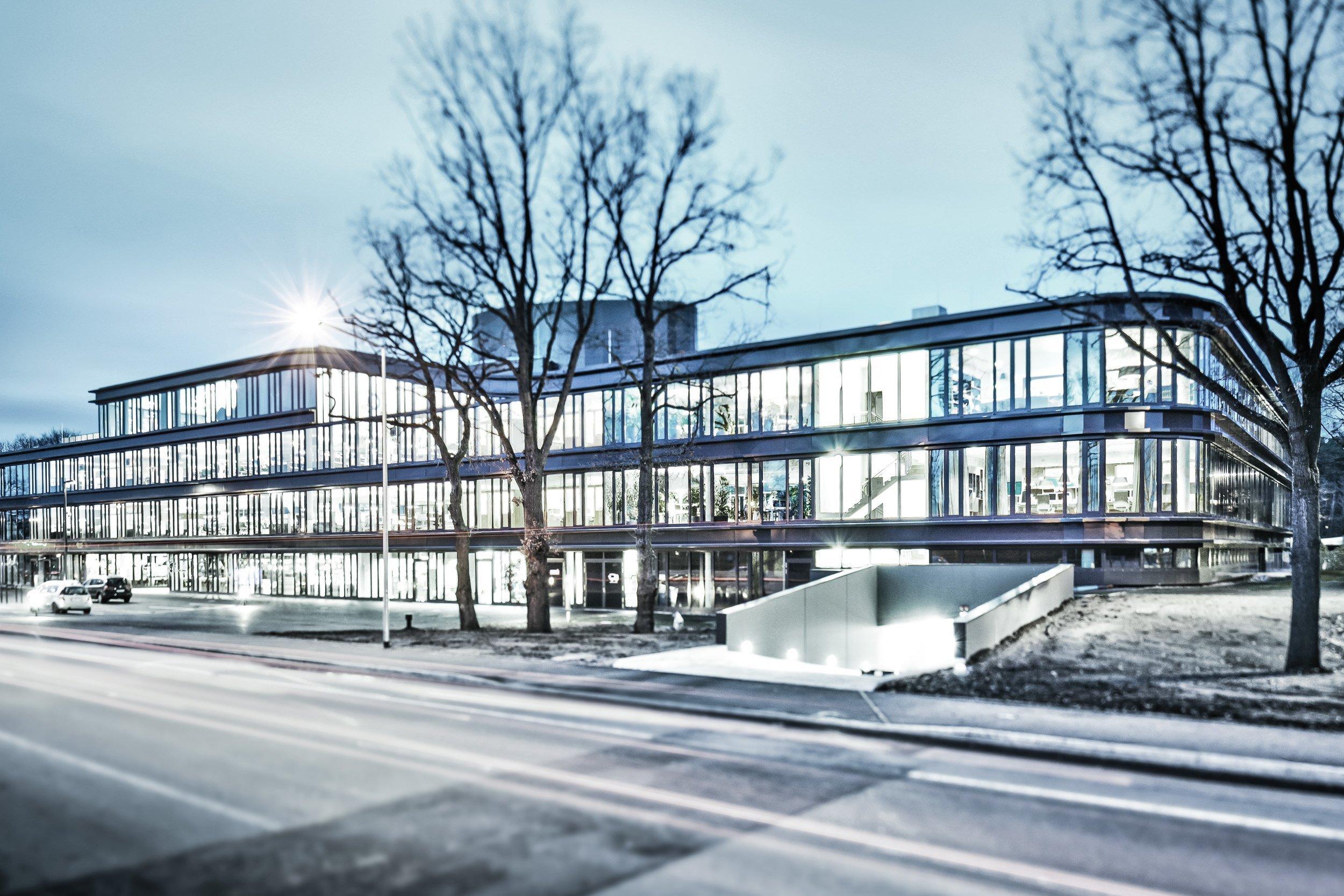 TeamBank Unternehmenszentrale Nürnberg - Außenansicht