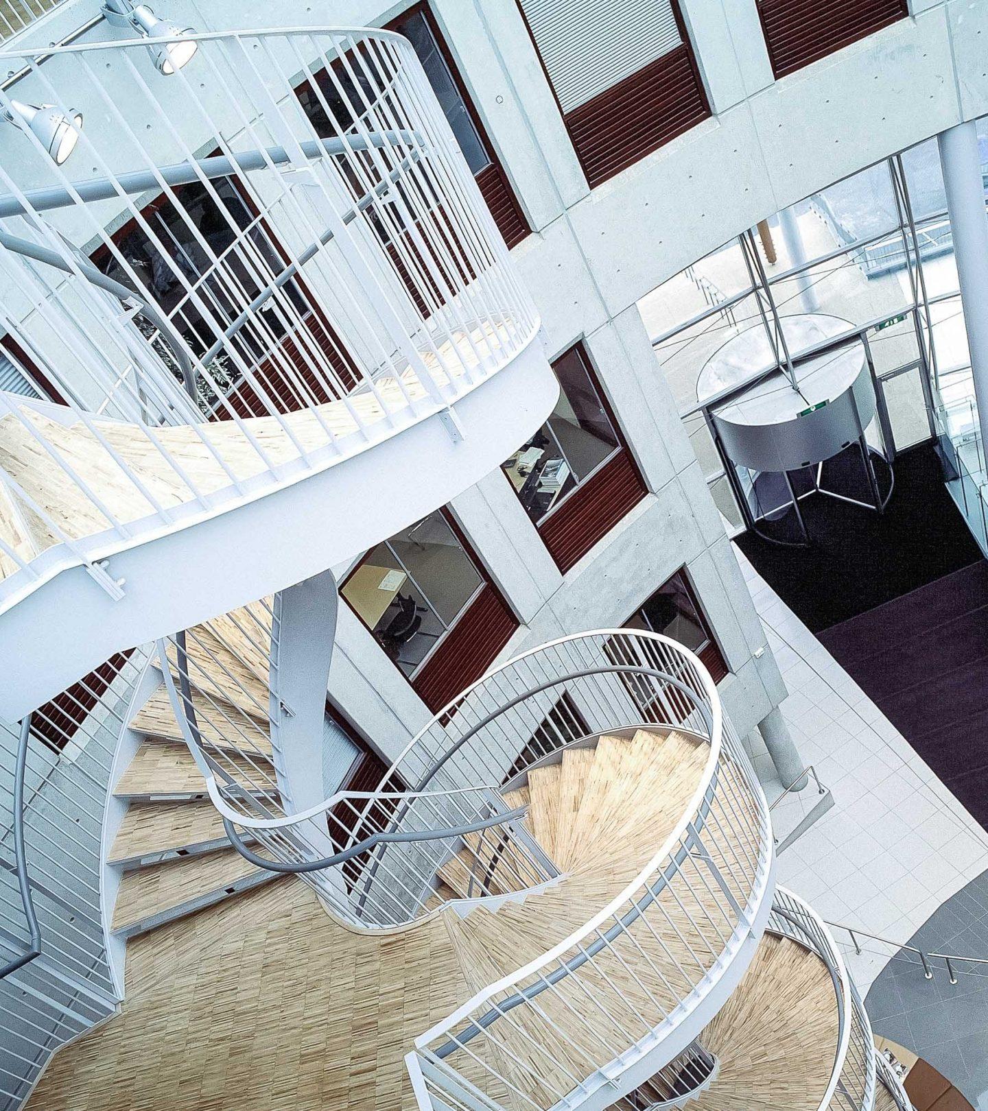 Van Deventerlaan Utrecht - Innenansicht Treppen und Eingangsbereich