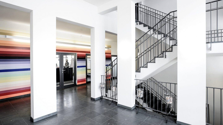 Villa Fuchs Heidelberg - Innenansicht Treppenhaus