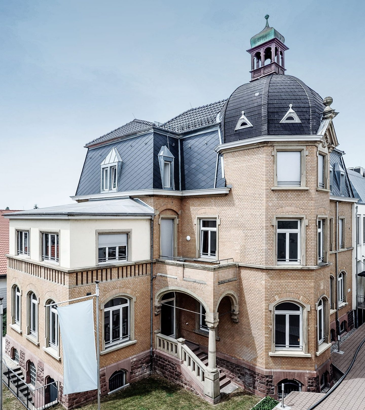 Villa Fuchs Heidelberg - Außenansicht seitlich