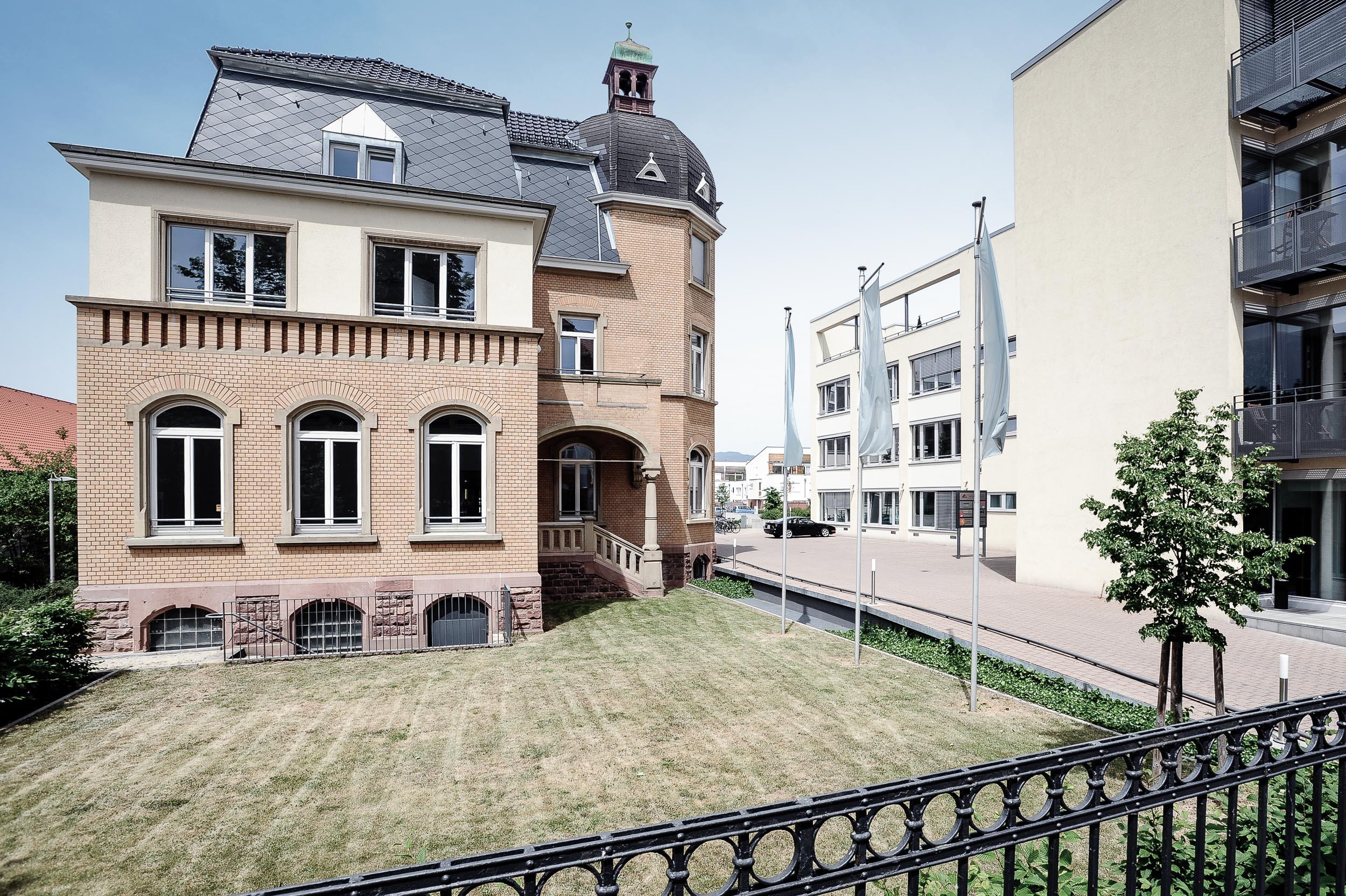 Villa Fuchs Heidelberg - Außenansicht