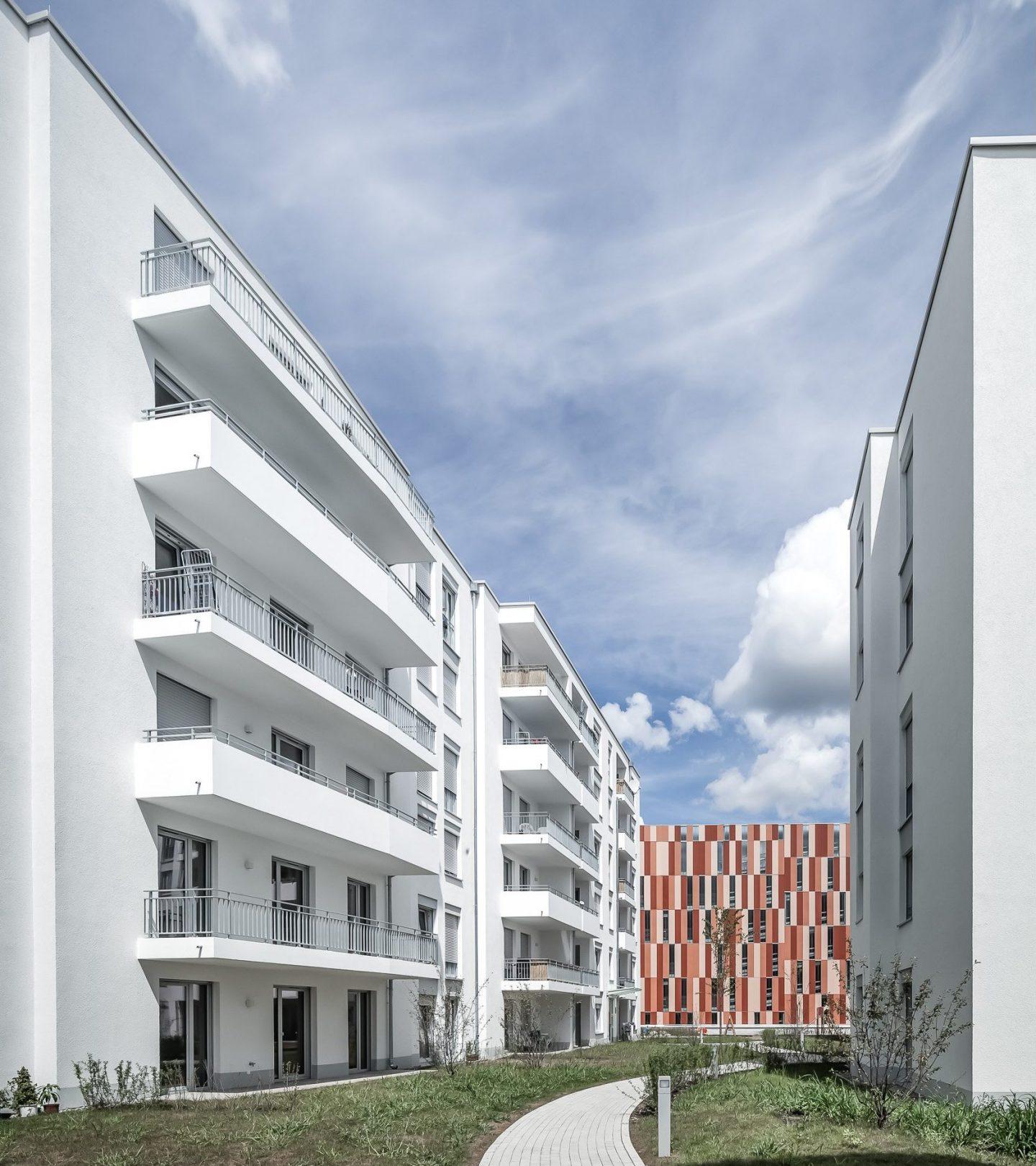 Westarkarden Freiburg - Außenansicht