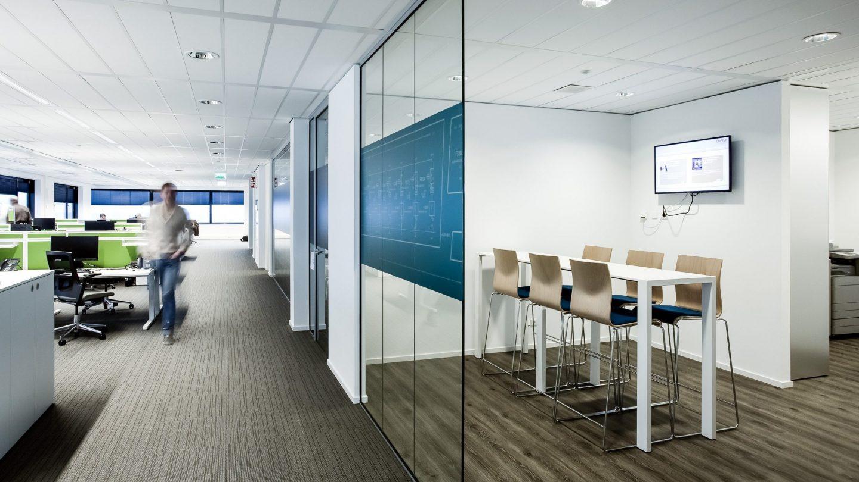 Willingestraat Rotterdam - Innenansicht Büro- und Besprechungsraum