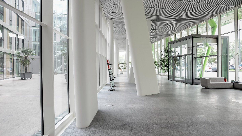 X-House Heidelberg - Innenansicht Eingangsbereich